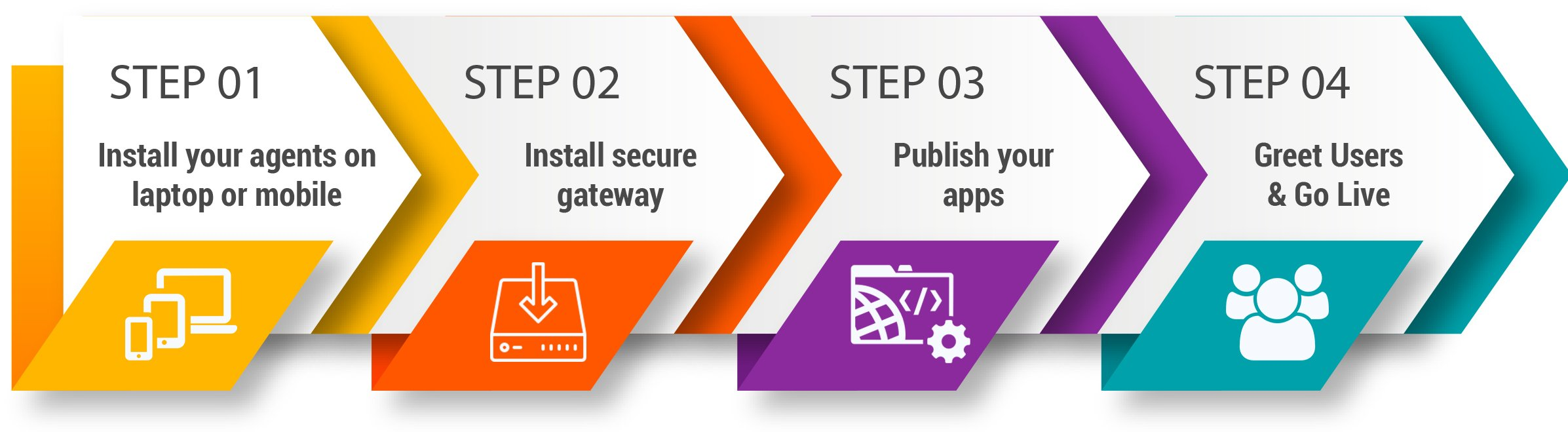 secure-private-access-steps